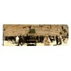 iCanvas Panoramic People Praying in Front of the Wailing Wall, Jerusalem, Israel Photographic Print on Canvas