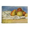 iCanvas 'Nature Morte Aux Pommes Et Poires 1890' by Pierre-Auguste Renoir Painting Print on Canvas