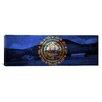 iCanvas Flags New Hampshire Mount Wonalancet Farm Panoramic Graphic Art on Canvas