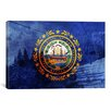 iCanvas Flags New Hampshire Loon Mountain Photographic Print on Canvas