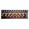 iCanvas Panoramic Prayer Wheels in a Temple, Chimi Lhakhang, Punakha, Bhutan Photographic Print on Canvas