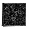 iCanvas Celestial Atlas - Plate 16 (Cancer) by Alexander Jamieson Graphic Art on Canvas in Black