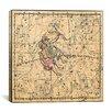 iCanvas Celestial Atlas - Plate 15 (Gemini) by Alexander Jamieson Graphic Art on Canvas in Beige