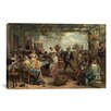 iCanvas 'The Dancing Couple' by Jan Steen Painting Print on Canvas