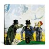 """iCanvas """"The Drinkers (after Daumier)"""" Canvas Wall Art by Vincent Van Gogh"""