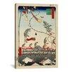 "iCanvas ""The City Flourishing, Tanabata Festival, 1857"" Canvas Wall Art by Utagawa Hiroshige l"
