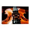 iCanvas Photography Violin Graphic Art on Canvas