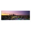 iCanvas Panoramic Skyscrapers Lit up at Sunset, Minneapolis, Minnesota Photographic Print on Canvas