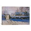 iCanvas 'The Magpie' by Claude Monet Painting Print on Canvas