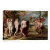 iCanvas 'The Judgment of Paris' by Peter Paul Rubens Painting Print on Canvas