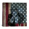 "iCanvas Flags Uncle Sam, James Montgomery ""I Want You for U.S.A. Army"" Graphic Art on Canvas"