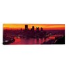 iCanvas Panoramic Three Rivers Stadium, Pittsburgh, Allegheny County, Pennsylvania Photographic Print on Canvas