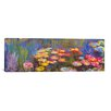 """iCanvas """"Water Lilies"""" by Claude Monet Painting Print on Canvas"""