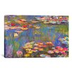 "iCanvas ""Water Lilies, 1916"" by Claude Monet Painting Print on Canvas"