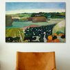 iCanvas 'Haystacks in Brittany' by Paul Gauguin Painting Print on Canvas