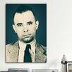 iCanvas Mugshot John Dillinger (1903-1934) - Gangster Photographic Print on Canvas