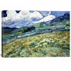 iCanvas 'Landscape at Saint Remy' by Vincent Van Gogh Painting Print on Canvas