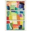 iCanvas 'Urban Essay XXIV' by Kim Parker 3 Piece Painting Print on Canvas Set
