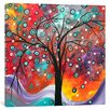 iCanvas 'Snow Fall' by Megan Duncanson Original Painting on Wrapped Canvas