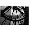 iCanvas Clock Tower in Paris Photographic Print on Canvas