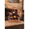 Cape Craftsmen Rustic Star 5 Bottle Wine Rack