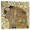 Bentley Global Arts 'The Embrace' by Gustav Klimt Painting Print on Canvas