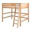 Camaflexi Camaflexi Full High Loft Bed with Panel Headboard