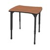 Marco Group Inc. Apex Series Melamine Adjustable Height Classroom Desk
