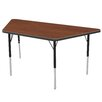 "Marco Group Inc. 48"" x 24"" Trapezoid Classroom Table"
