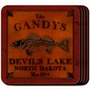 JDS Personalized Gifts Personalized Gift Cabin Series Coaster (Set of 4)