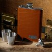 JDS Personalized Gifts Personalized Gift 4 Piece Tycoon Flask Set