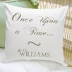 JDS Personalized Gifts Personalized Gift Couples and Love Cotton Throw Pillow
