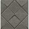 """Bedrosians Ambiance Insert Matrix City 4"""" x 4"""" Resin Tile in Pewter"""