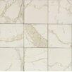 """Bedrosians Marmi Di Napoli 12"""" x 12"""" Porcelain Field Tile in Calacatta"""