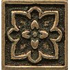 "Bedrosians Ambiance Insert Romanesque 1"" x 1"" Resin Tile in Bronze"