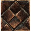"Bedrosians Ambiance Insert Matrix City 1"" x 1"" Resin Tile in Venetian Bronze"