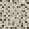 """Bedrosians Interlude 0.75"""" x 0.75"""" Stone and Glass MosaicTile in Prelude"""