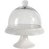 Derry's Giftware 30cm Cake Stand in White