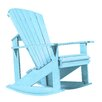 CR Plastic Products Generations Adirondack Rocking Chair