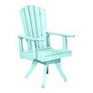 CR Plastic Products Generations Swivel Dining Arm Chair