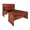 Regency Sandia U-Shape Bow Front Executive Desk with Hutche
