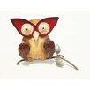 D-Art Collection Iron Owl Décor Figurine