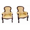 D-Art Collection Louis Grandfather Arm Chair (Set of 2)