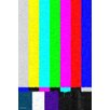 """Maxwell Dickson """"No Signal"""" Graphic Art on Canvas"""
