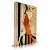 "Maxwell Dickson ""Jolie"" Fashion Graphic Art on Wrapped Canvas"