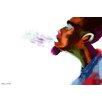 Maxwell Dickson Guy Breathe Painting Print on Canvas