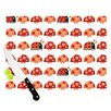 KESS InHouse Garden Ladybugs by Jane Smith Cutting Board