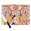 KESS InHouse Alice in Wonderland Cutting Board
