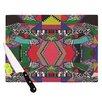 KESS InHouse African Motif Cutting Board