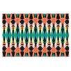KESS InHouse Triangle Visions Doormat